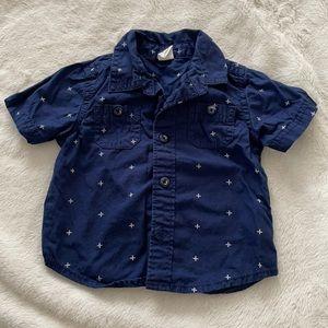 Button down short sleeve